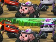 Blaze Monster Trucks Differences