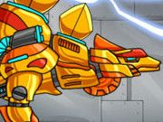 Combine! Dino Robot: Stego Gold