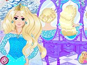 Elsa Royal Hairstyle