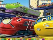 Hidden Numbers: Chuggington