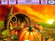 Hidden Numbers: Happy Thanksgiving