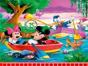 Hidden Numbers: Mickey Mouse