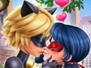 Lady Bug miraculous kiss
