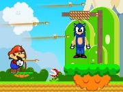 Mario and Sonic Doll