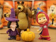 Masha And The Bear Halloween Party