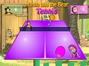 Masha And The Bear Tennis