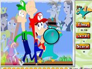 Phineas And Ferb: Hidden Numbers