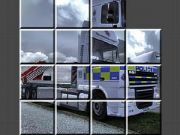 Police Truck Puzzle