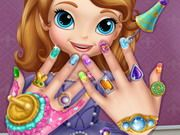 Sofia The First: Nail Spa
