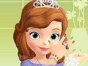 Sofia The First: Nails Salon