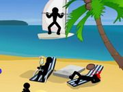 Stickman Death: Beach
