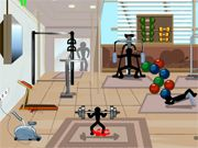 Stickman Death: Gym