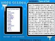 Word Search Gameplay 1: Asia