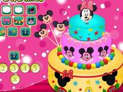 Yummy Minnie Mouse Cake