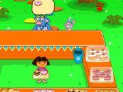 Dora Cake Berry Shop