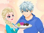 Elsa's Valentine Cookies