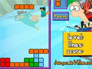 Phineas And Ferb: Tetris