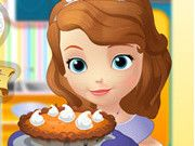 Sofia The First: Cooking Pumpkin Tart