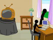 Stickman Death: Living Room